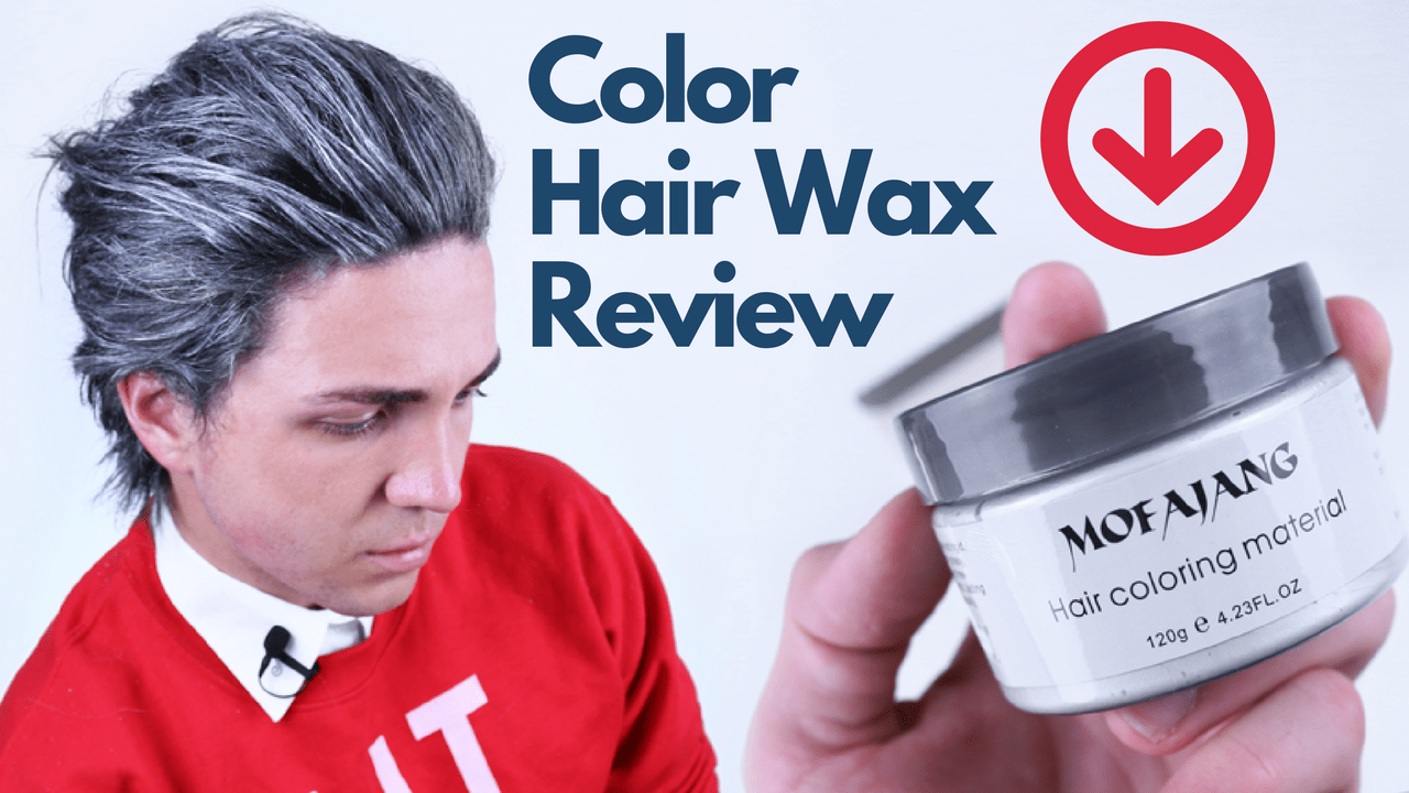 Color Hair Wax Review Does It Look Real Or Fake