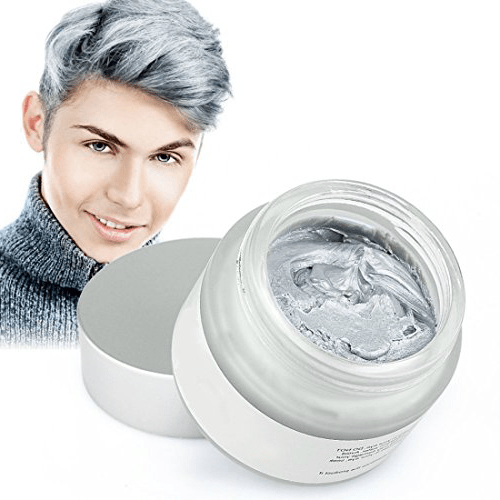 Grey Color Hair Wax