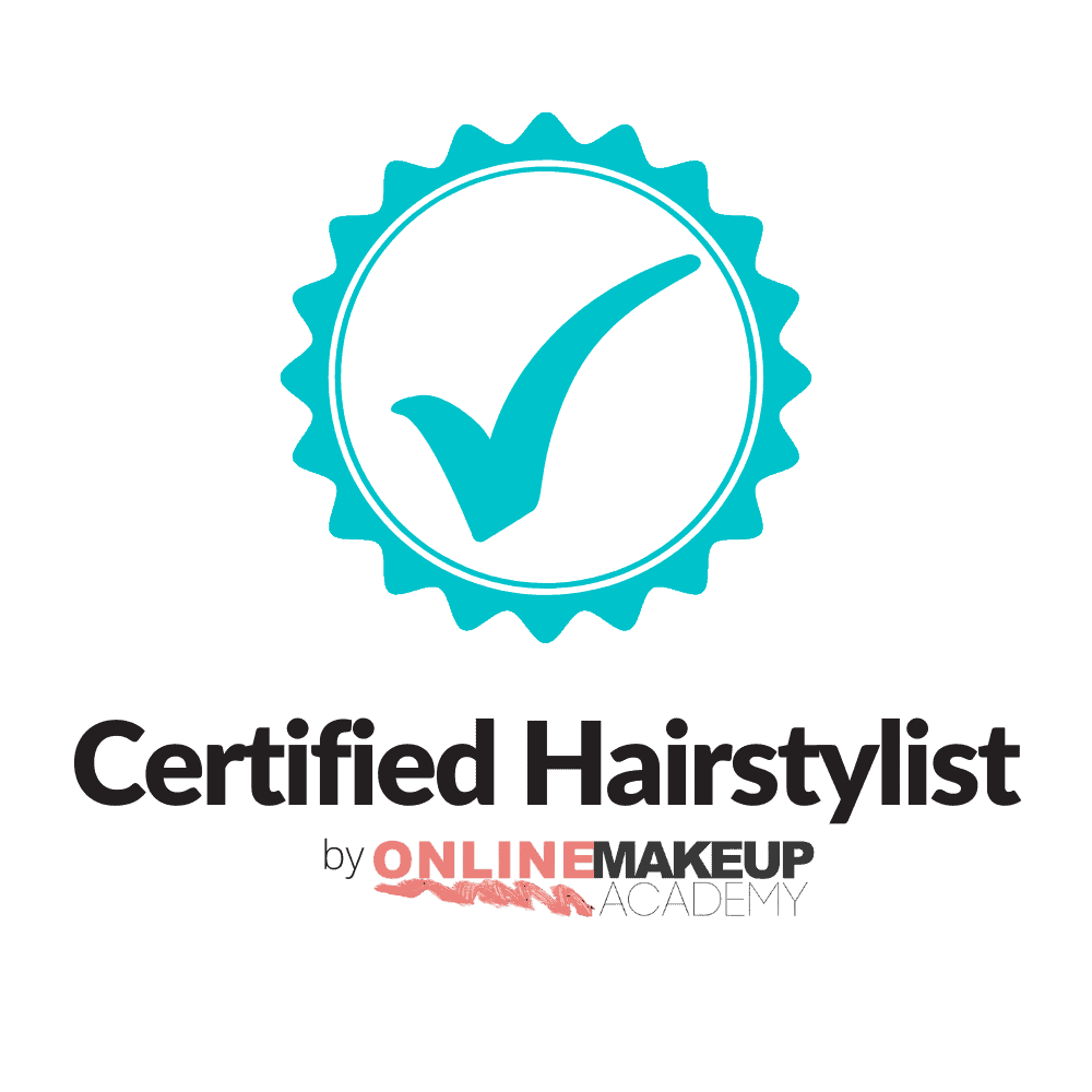 Certified Hairstylist by The Online Makeup Academy